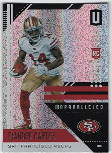2018 Panini Unparalleled Football #175 DeAndre Carter 49ers