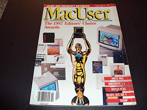Mac User Feb 1988 Dbase Mac, Mindwrite ()