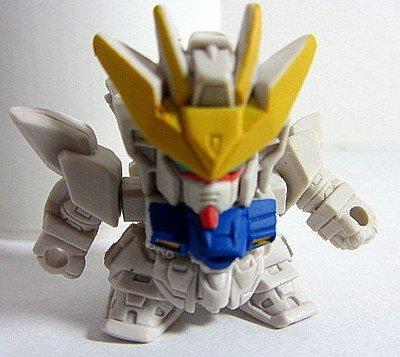 SD Gundam 00 Full Color Custom Mini Figure - Bandai Japan Import 2007