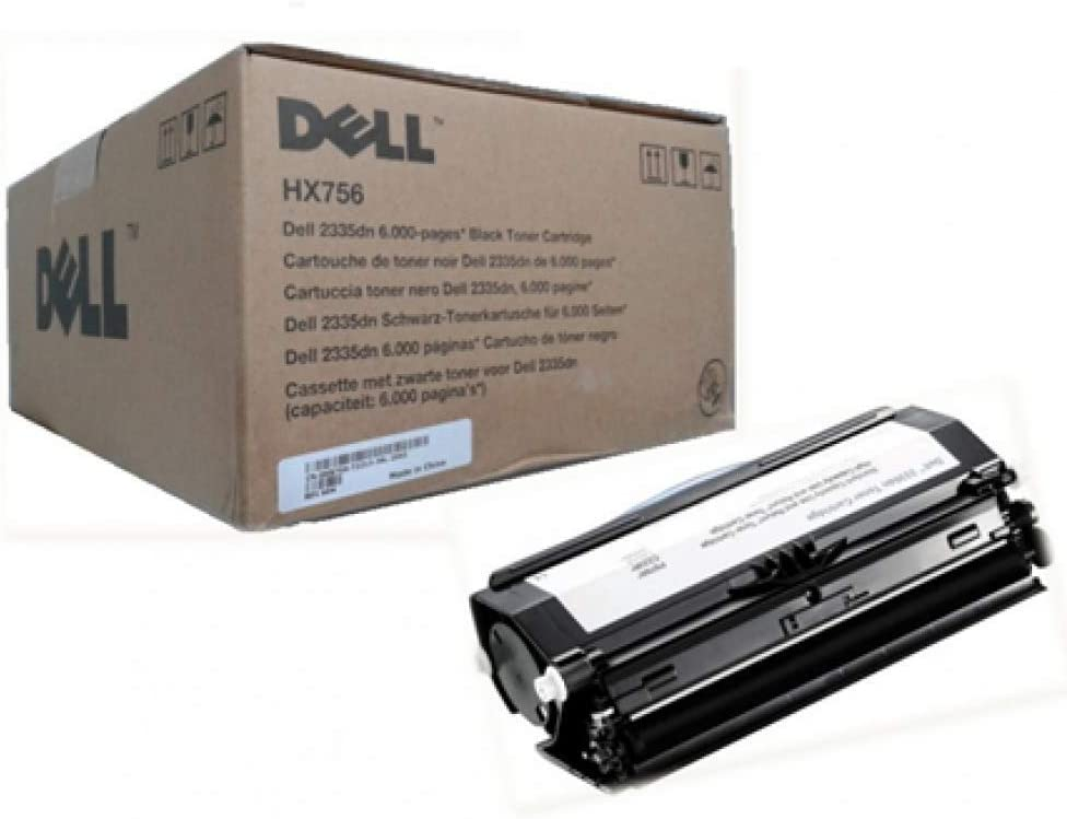Dell HX756 Black Toner Cartridge for 2335dn Laser Printer