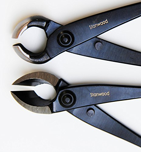 Stanwood Bonsai Tool Professional Grade Japanese Concave and Knob Cutters