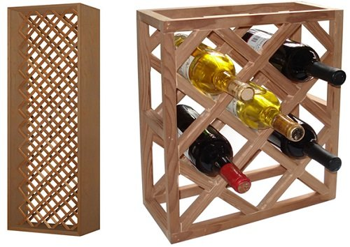 Vinotemp VNTVT-INDVDIAMOND Rack-G1 Individual Diamond Rack, - Diamond Rack Individual