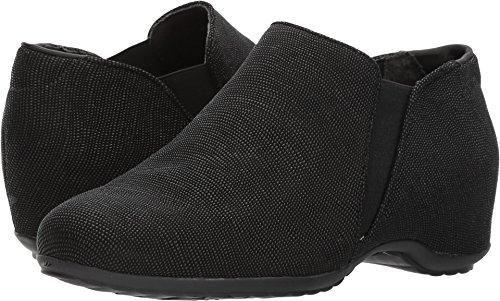 Walking Cradles Women's Keaton Loafer Black Aquarius Leather