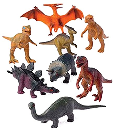 Assorted Plastic Toy Dinosaurs