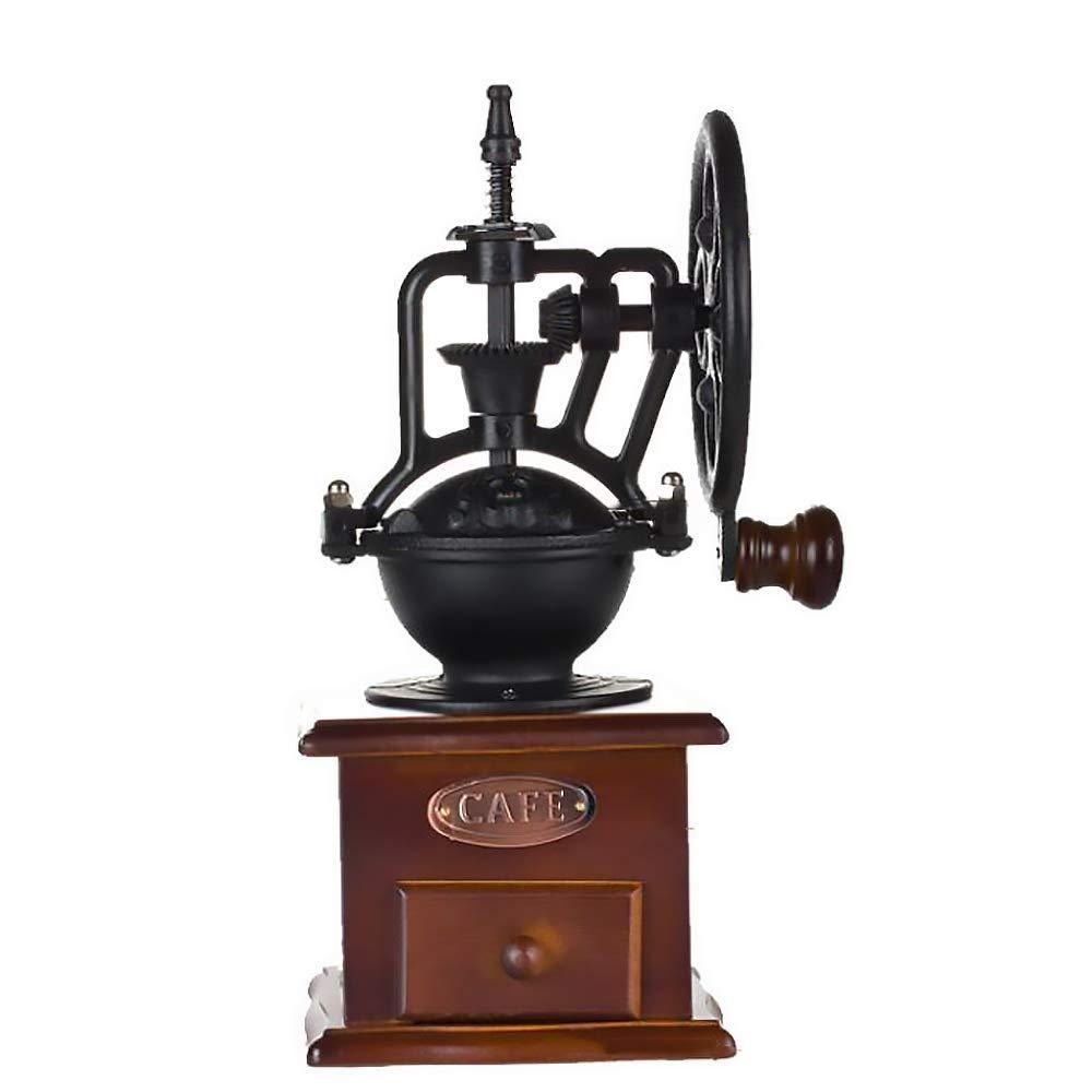 RUIMA 古典的な銅のハンドグラインダー、ハンドグラインダーのコーヒーグラインダー   B07PP77NP9