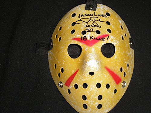 cj-graham-signed-hockey-mask-18-kills-jason-voorhees-friday-the-13th-part-6