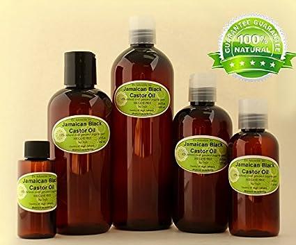 Jamaica negro Castor Oil Natural puro orgánico fortalecer Grow y restauración del cabello 2.2 Oz/
