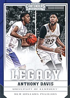 2017-18 Panini Contenders Drafts Picks Legacy #2 Anthony Davis Kentucky Wildcats/New Orleans Pelicans Basketball Card