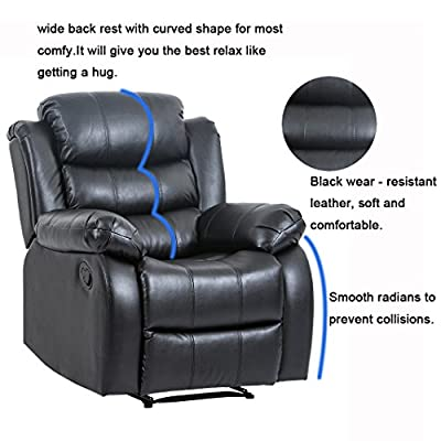 Recliner Sofa Sectional Reclining Chair Three seat Modern Furniture Set for Living Room Classic and Traditional
