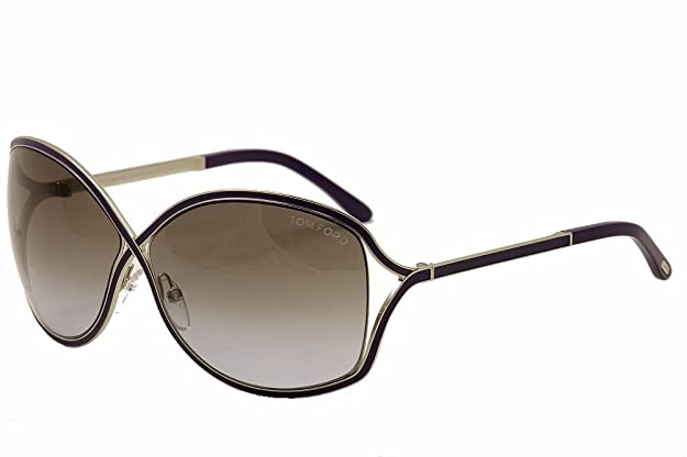 17925875ba4 Amazon.com  Tom Ford Sunglasses - Rickie   Frame  Violet Lens  Violet  Gradient  Shoes