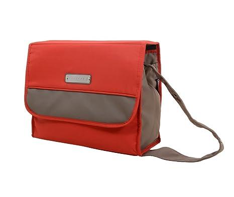 Bebecar - Bolso cambiador, color rojo: Amazon.es: Bebé
