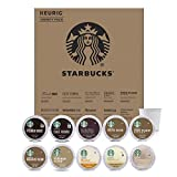 Starbucks Starter Kit K-Cup Variety Pack for Keurig Brewers, 40 K-Cup Pods (10 Roasts With 4 Pods Each)