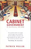 Cabinet Government in Australia, 1901-2006