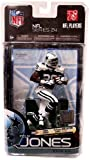 McFarlane Toys NFL Sports Picks Series 24 Action Figure Felix Jones (Dallas Cowboys) Thanksgiving Uniform Gold Collector Level Chase