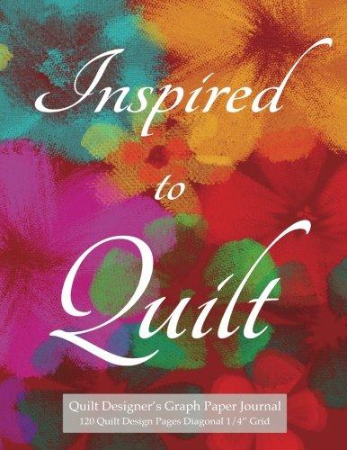 Graph Design - Quilt Designer's Graph Paper Journal 120 Quilt Design Pages 1/4