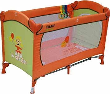 Playpen Baby Travel Cot/Bed ARTI Basic Fresh Ala Orange Green Child Cribs  Portable Bed