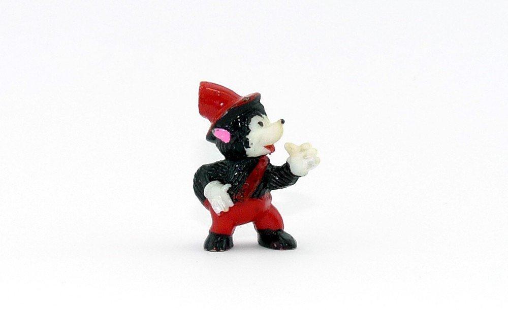Kinder Überraschung, Wölfchen mit roter Hose und weiß bemalter Hand Hand Hand (Variante) 6f0724