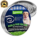 Flea and Tick Prevention Collar One Size Fits All Dogs and Cats Flea