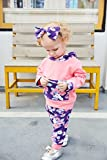 Doding-Baby-Girls-Valentine-Outfits-Set-Floral-Hoodie-Tops-and-Pants-With-Headbands