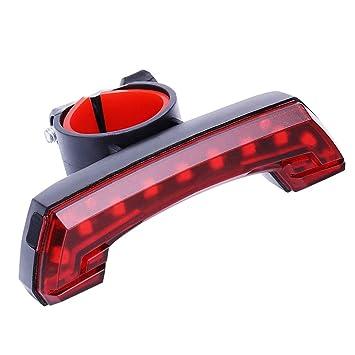 Luz Bicicleta Recargable USB, Linterna Bicicleta Impermeable con ...