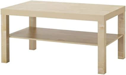 Ikea Lack Table Basse Imitation Bouleau Amazon Fr Cuisine Maison