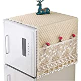 冷蔵庫カバー布シングルダブルドア冷蔵庫カバーダストカバー洗濯機ベッドサイドテーブルクロス