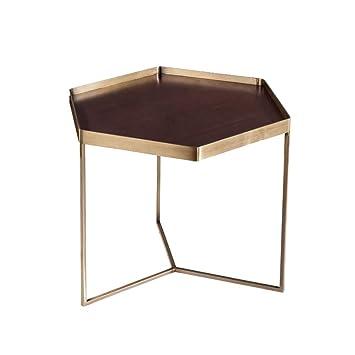 Zijuan Table Basse Hexagonale Table D Appoint Salon Restaurant