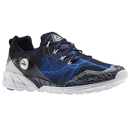 Reebok–Zapatillas de deporte. Azul marino