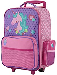 Girls Classic Rolling Luggage 448bc8c7fd017
