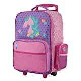 Stephen Joseph Classic Rolling Luggage, Unicorn