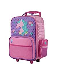 Stephen Joseph girls Stephen Joseph Classic Rolling Luggage Backpack