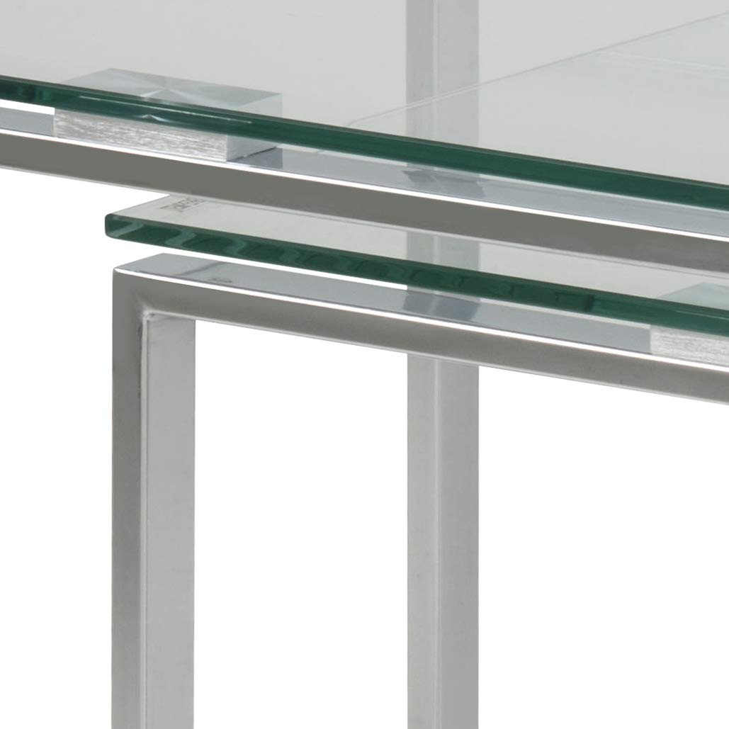 Stile Scandinavo Color Argento AC Design Furniture Tavolini di Servizio
