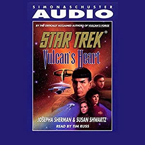 Star Trek: Vulcan's Heart (Adapted) Audiobook