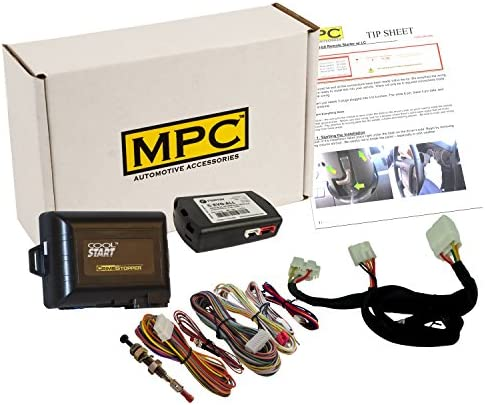 MPC Complete Factory Remote Activated Remote Start Kit for 20122017 Kia RioKeytoStartGasPlugin THarness