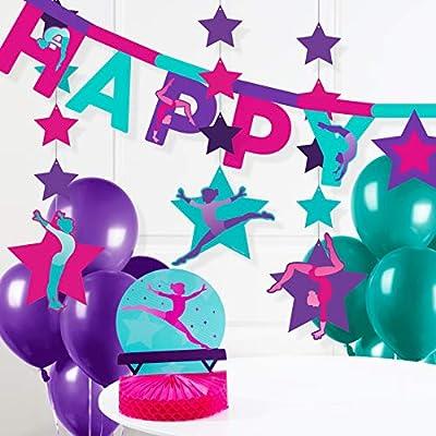 Gymnastics Party Decorations Kit: Toys & Games