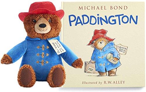 Paddington Bear Plush Toy and Book Gift Set Bundle (Kohls Cares)