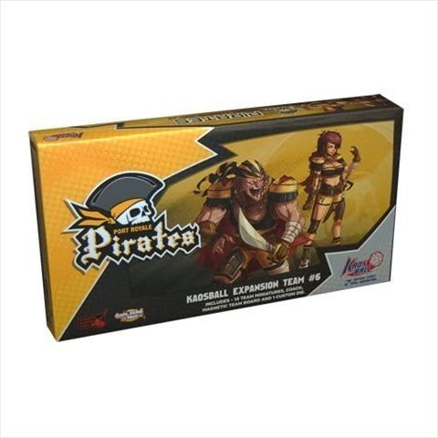 Cool Mini or Not KB0007 Kaosball Port Royale Pirates Team by: Amazon.es: Juguetes y juegos