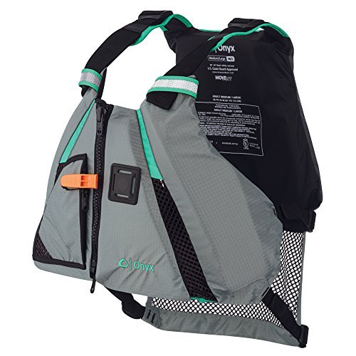 1 - Onyx Movement Dynamic Paddle Sports Life Vest - XS/SM - Aqua (Onyx Movevent Dynamic Paddle Sports Life Vest)