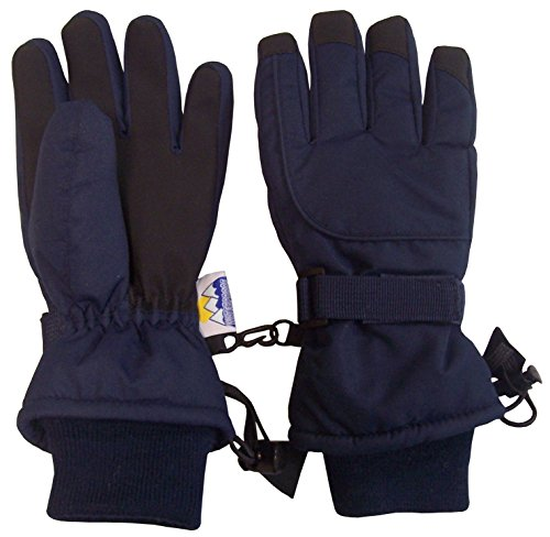 N'Ice Caps Kids Extreme Cold Weather 80 Gram Thinsulate Waterproof Ski Gloves