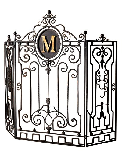 Buy PERSONALIZED Iron Monogram Firescreen Fireplace Screen: Fireplace Screens - Amazon.com ? FREE DELIVERY possible on eligible purchases