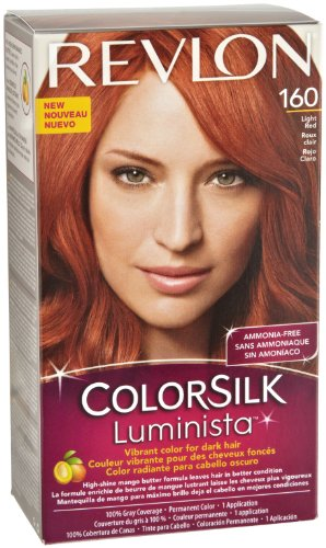 Revlon Colorsilk Luminista Haircolor, Light Red