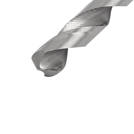 uxcell 7mm Dia 250mm Length HSS Straight Round Shank Twist Drill Bit Drilling Tool