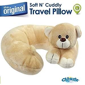 Amazon.com: Cloudz Almohadas de peluche para animales, Bear ...