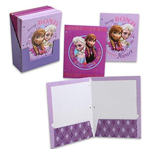 1 X Frozen 2-pocket Folder 2-asst Print