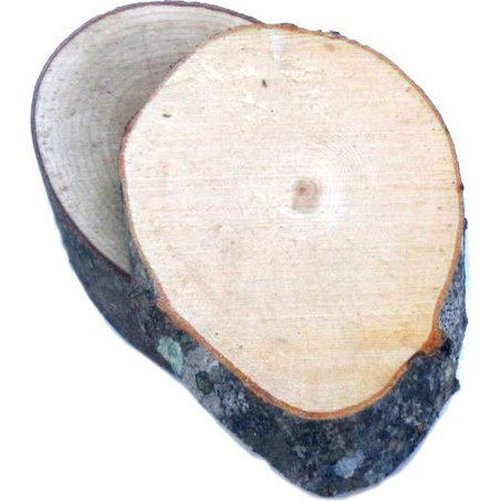 5'' x 7'' Maple Sugar Oval Grilling Plank - Box of 50