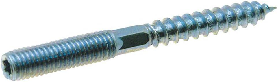 50 X Stockschrauben mit Sechskant M10x180 TX 25 Eisen glanzverzinkt