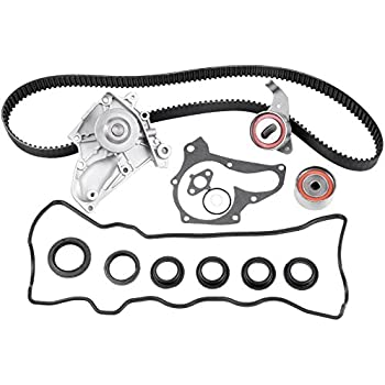 Amazon com: Timing Belt Water Pump Kit Fits 1987-2001 Toyota Camry