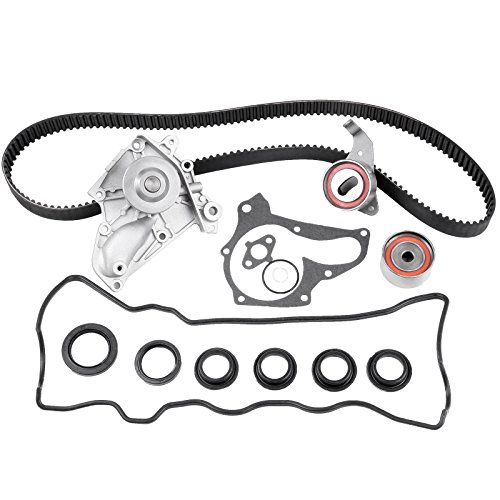 ECCPP Timing Belt Kit Automotive Replacement Timing Belt Water Pump Valve Cover Kit For Toyota Celica 2.0L 2.2L TBK138VC 3SFE 5SFE 1987-2001 (2001 Toyota Water Pump Camry)