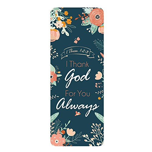Catholic & Religious I Thank God for You Always Jumbo Bookmark - 36/pk