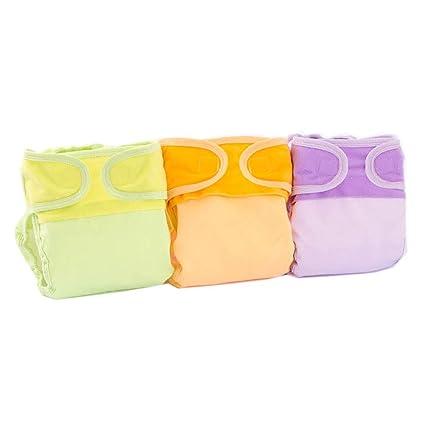 WJY Ropa Interior De Niño Ropa Interior para Niña Pantalones De Pañal para Niños Algodón Color